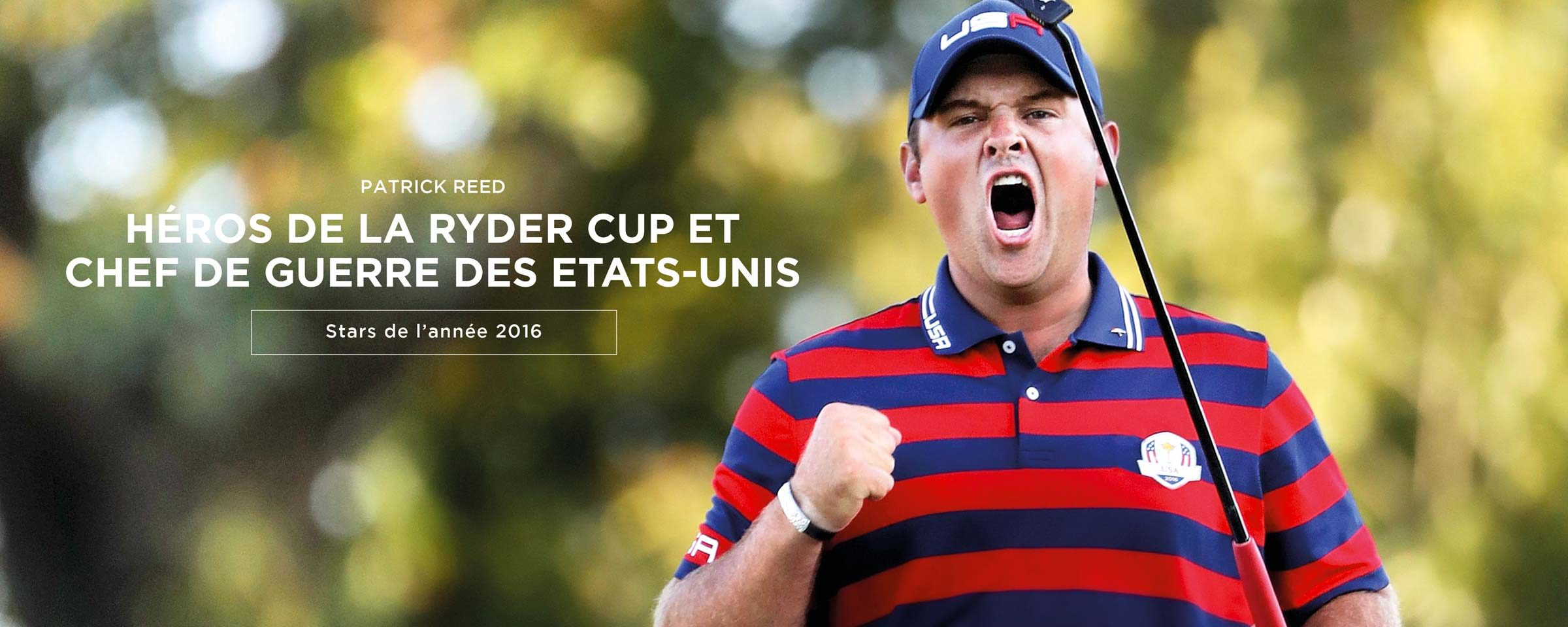 Patrick Reed, Le héros de la Ryder Cup
