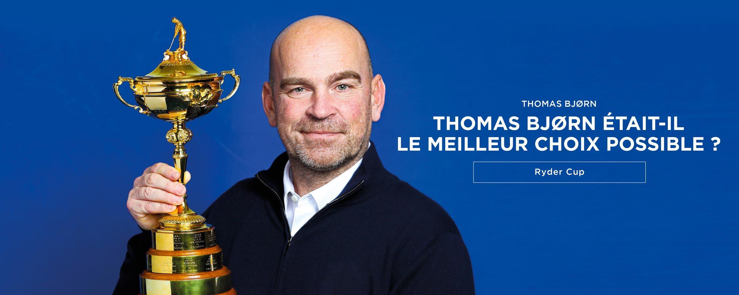 Thomas Bjorn – Ryder Cup