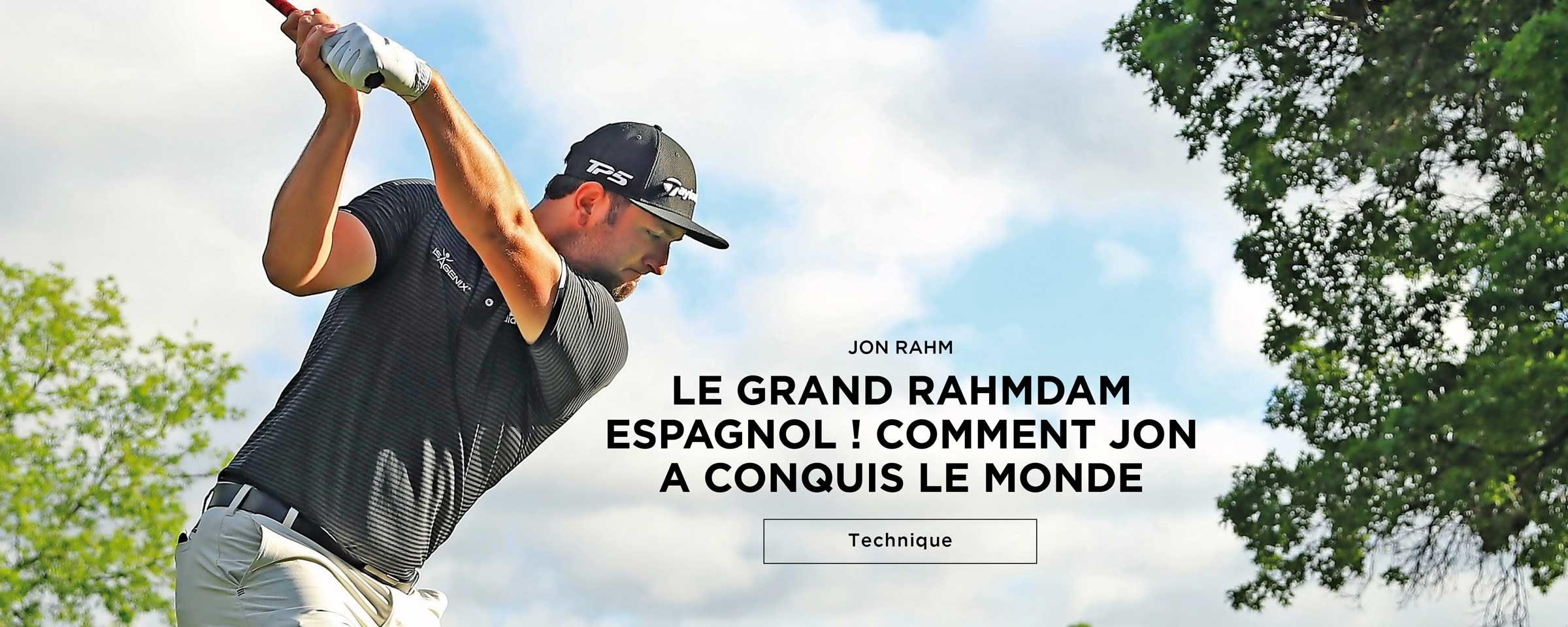 Jon Rahm – Technique