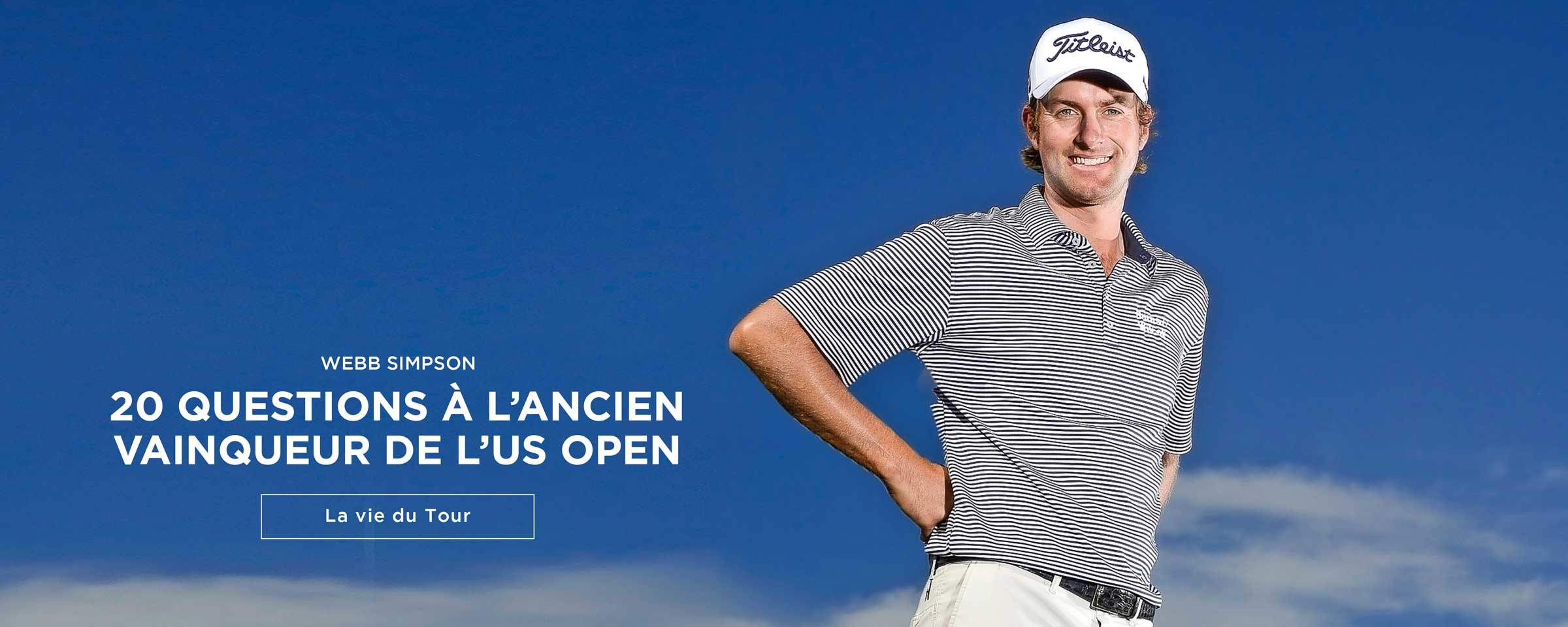 Webb Simpson – 20 questions