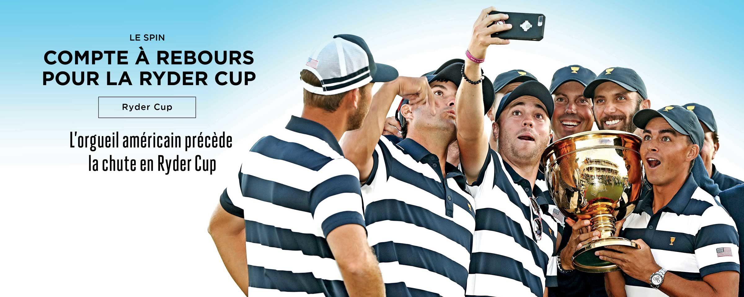 Compte à rebours pour la Ryder Cup