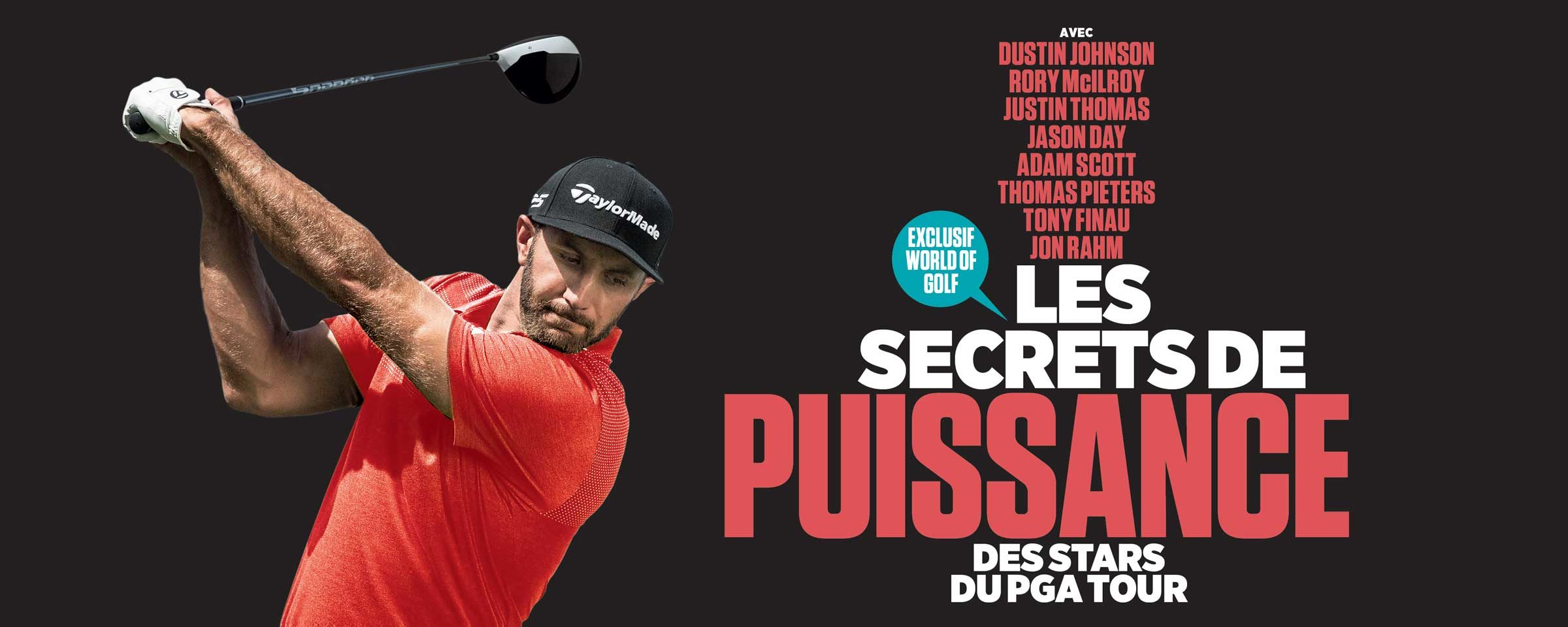 Les secrets de puissance des stars du PGA Tour