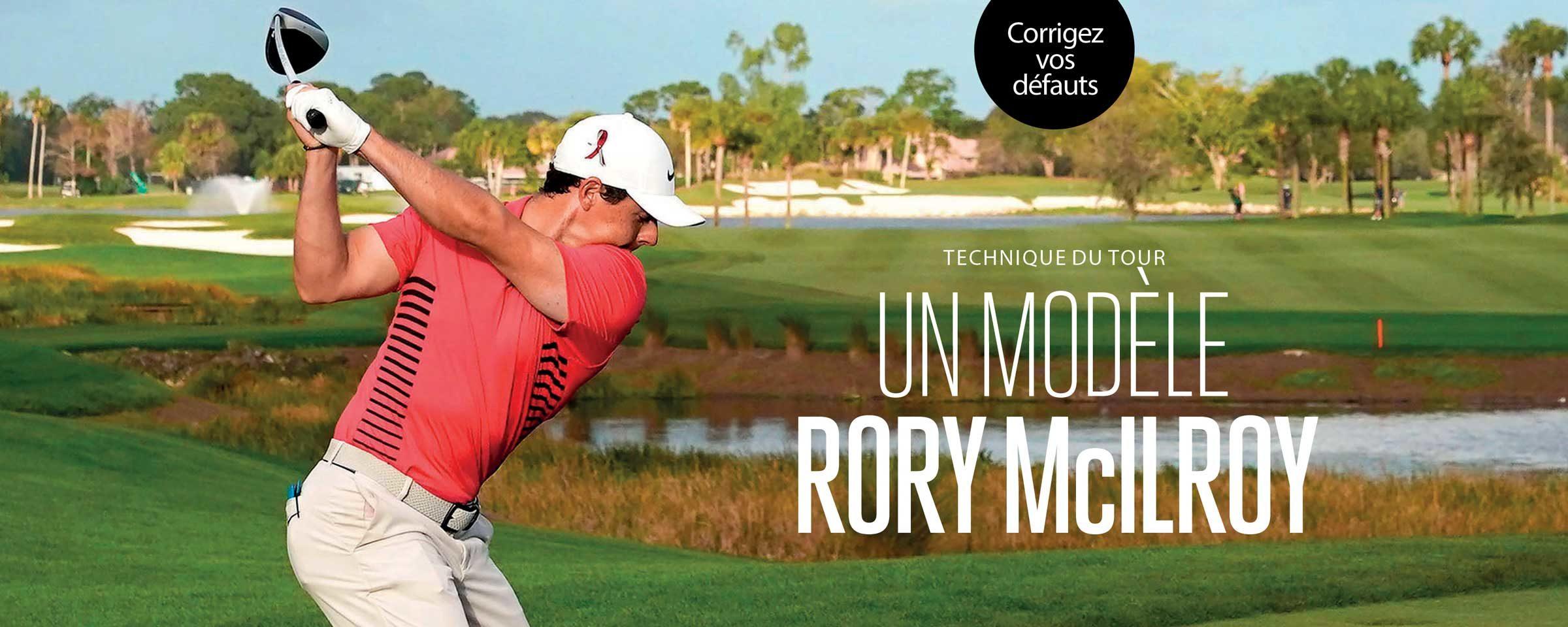 Un modèle Rory McIlroy