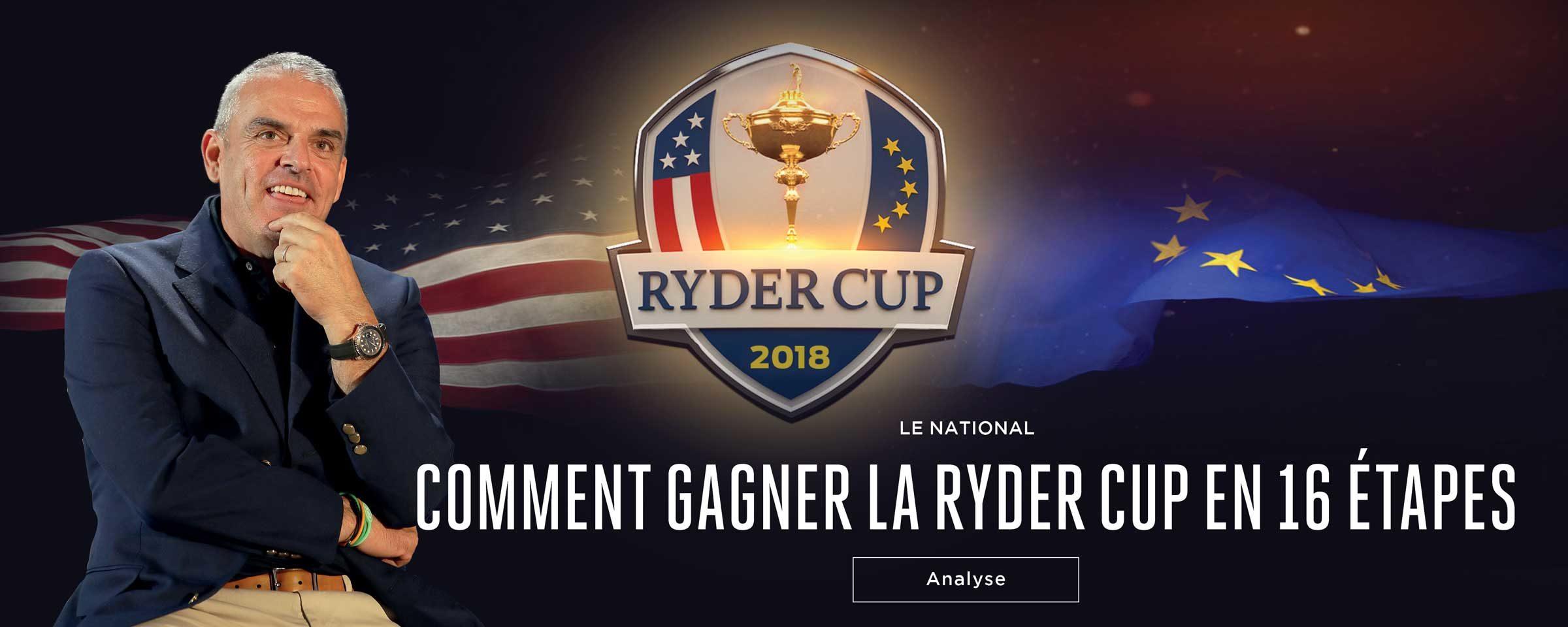 Comment gagner la Ryder Cup