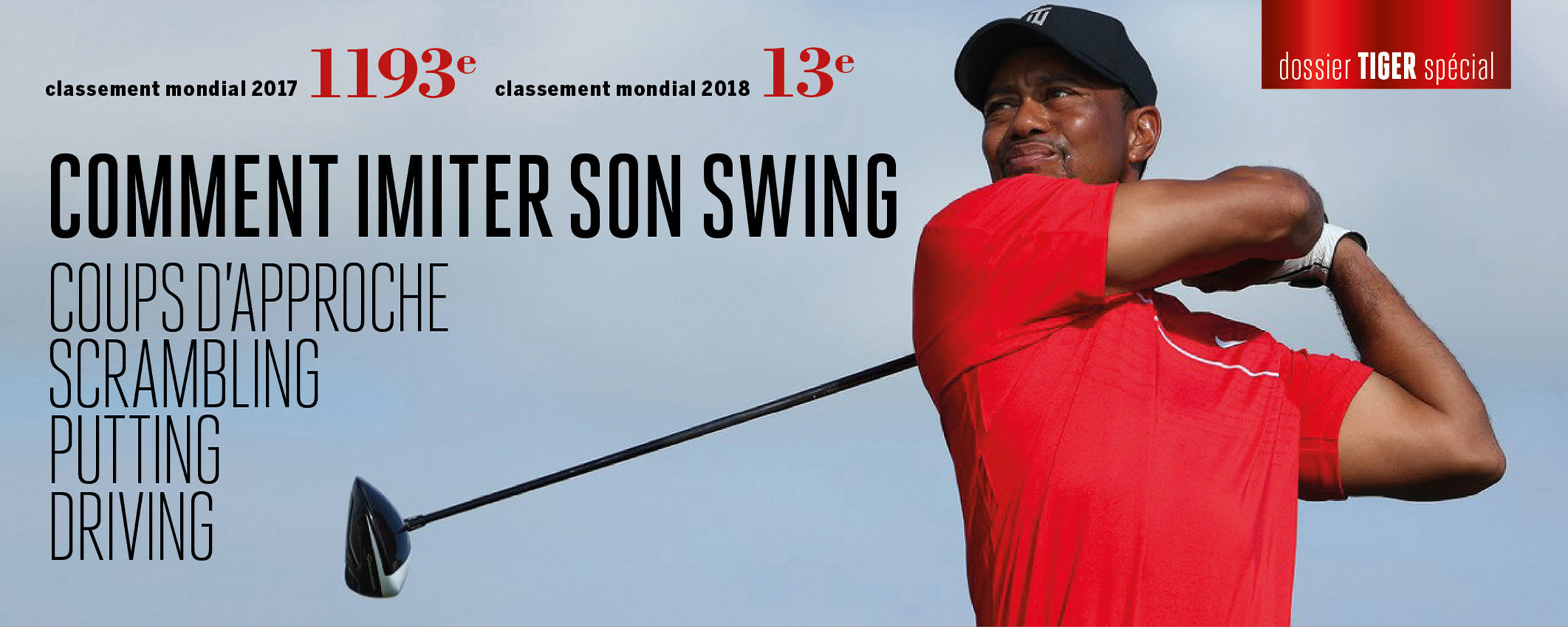 Comment imiter le swing de Tiger Woods