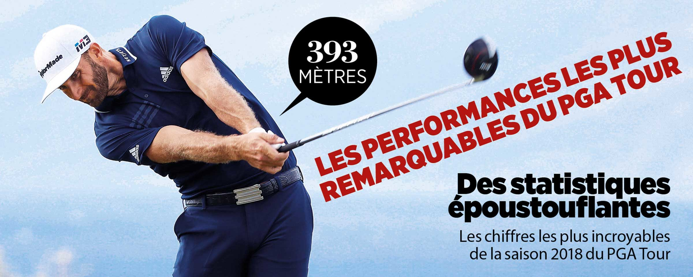 Dustin Johnson a envoyé une balle à 393 mètres au Sentry Tournament of Champions