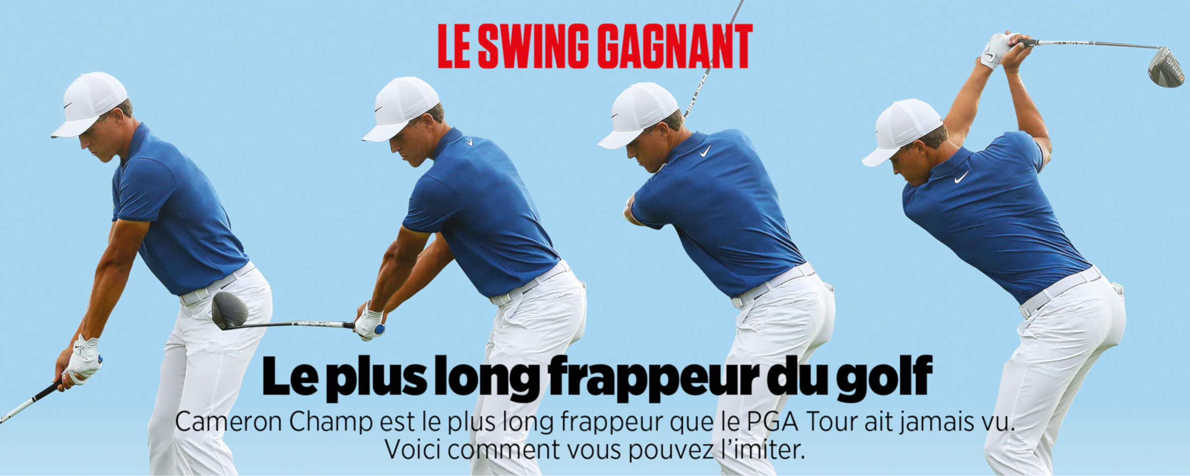 Le swing gagnant
