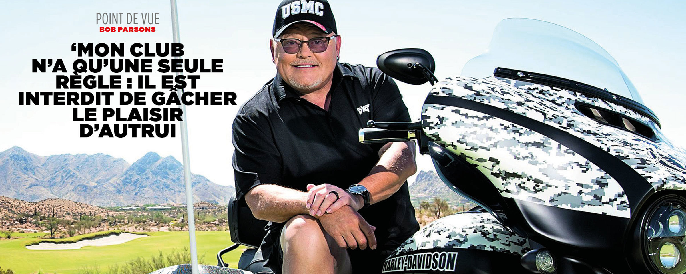 Point de vue : Bob PARSONS