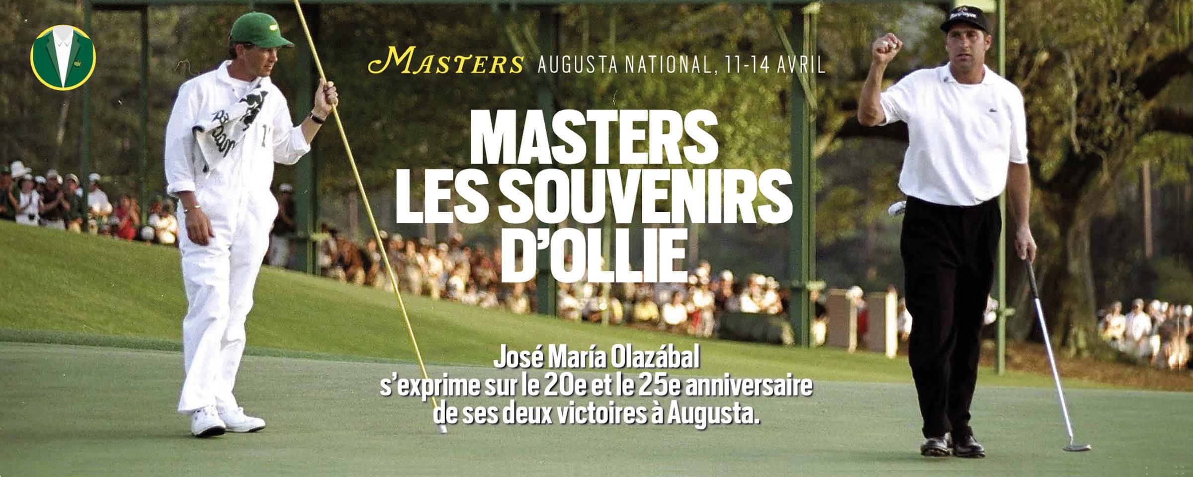 José María Olazábal – Le Masters