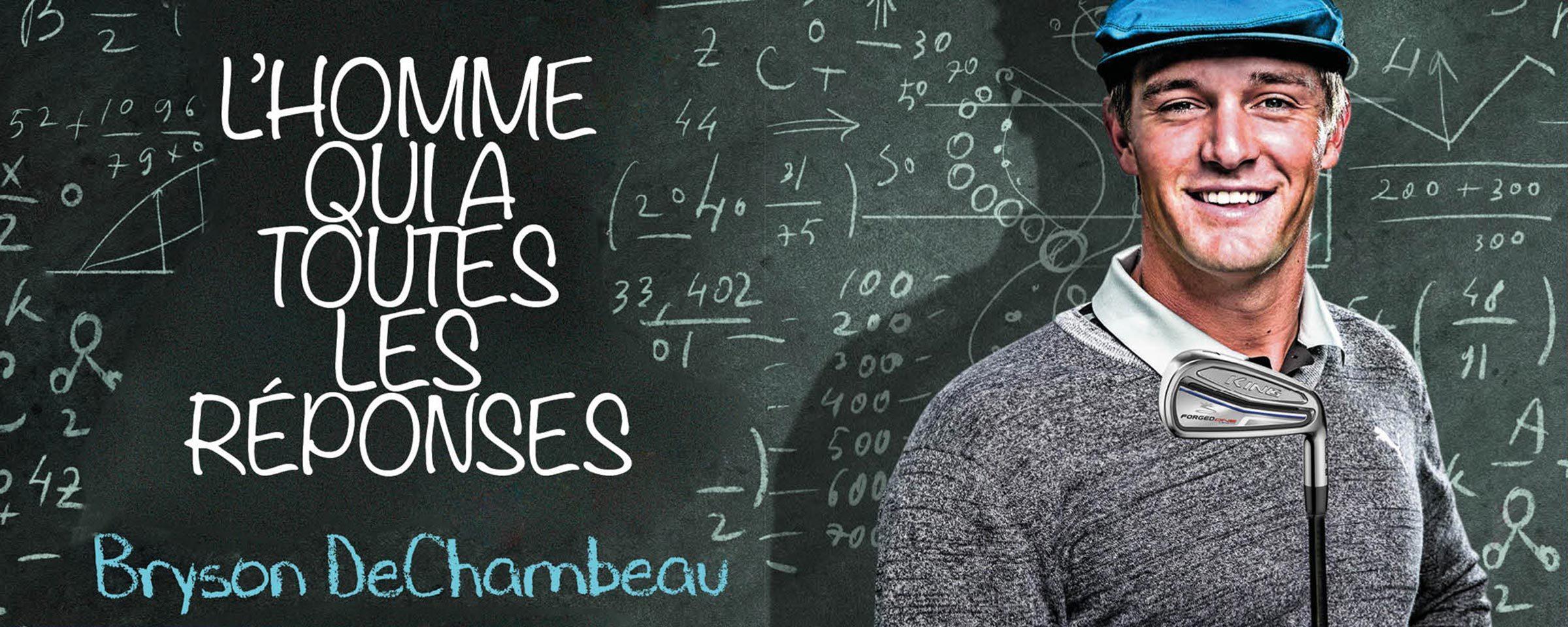 Bryson DeChambeau : l'homme qui a toutes les réponses