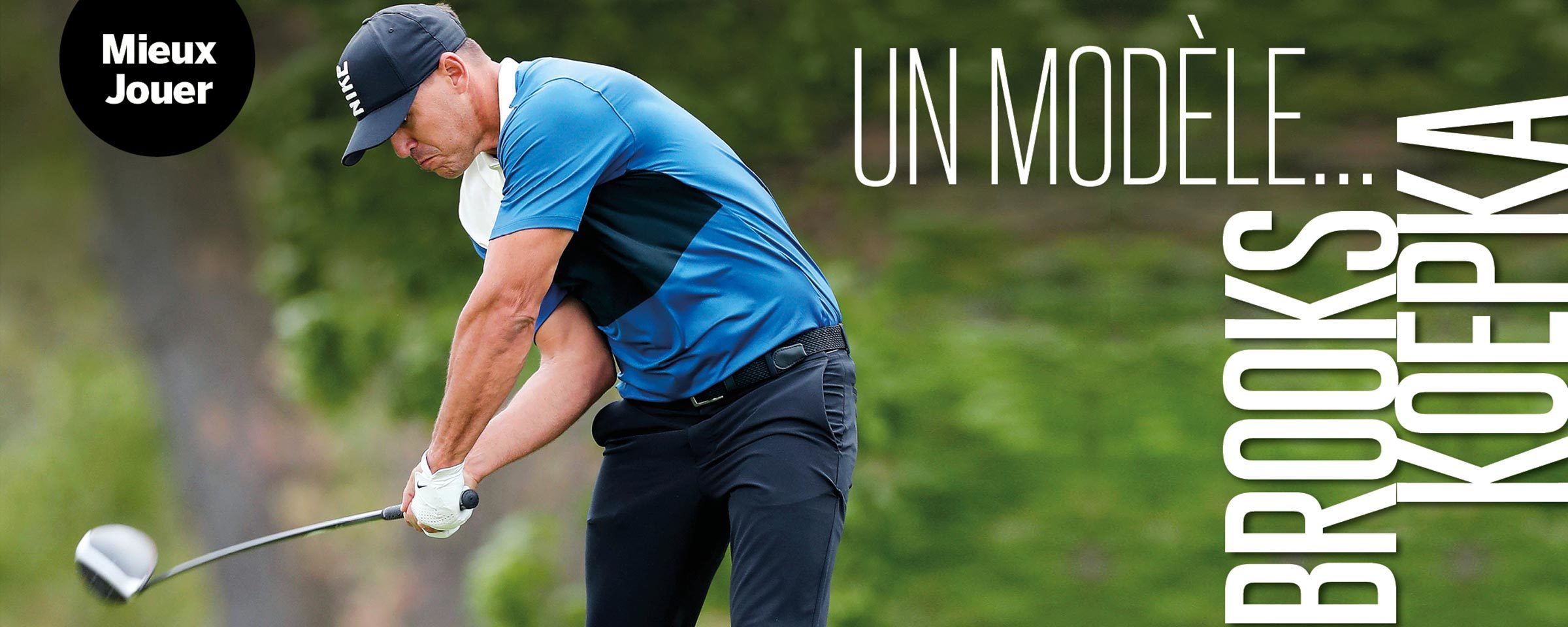 Brooks Koepka – Technique du tour