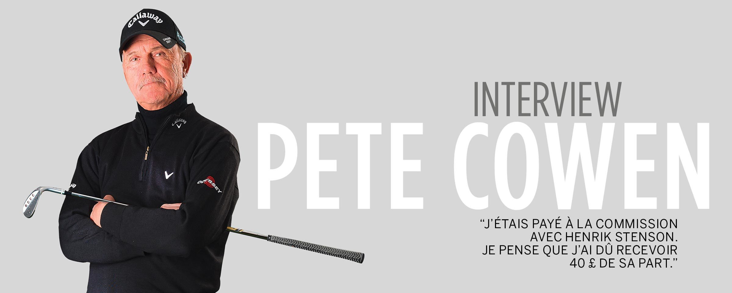 Pete Cowen – interview