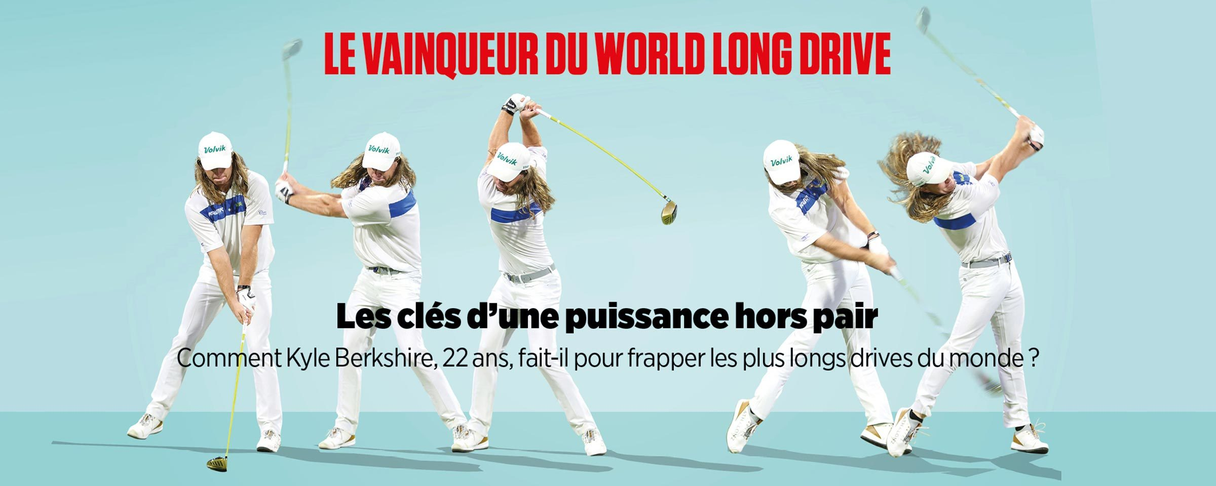 Le vainqueur du world long drive