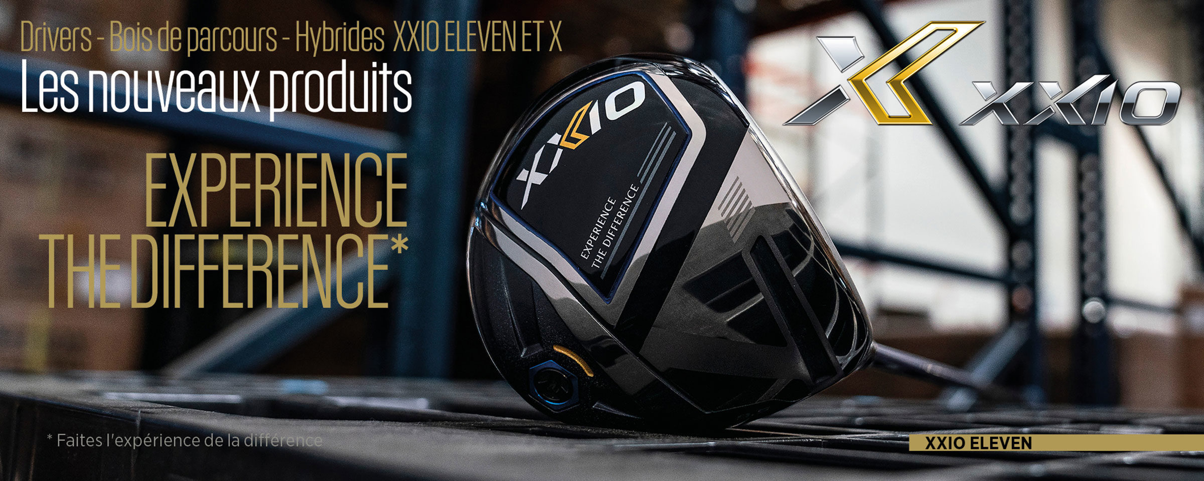 SRIXON -Experience the difference